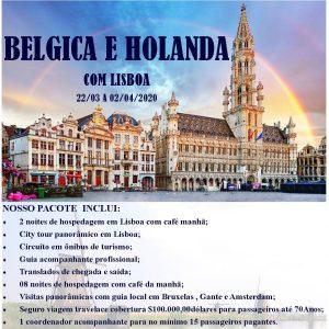 Belgica e Holanda com Lisboa