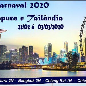 Cingapura e Tailandia