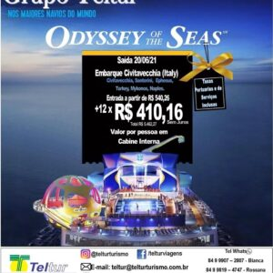 Odyssey Of The Seas TELTUR 2021