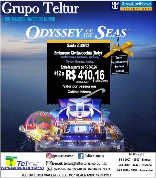 Odyssey Of The Seas TELTUR 2021
