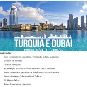 Turquia e Dubai 2021